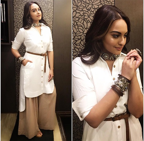 Boho necklace inspired by Sonakshi sinha for Pro kabadi league