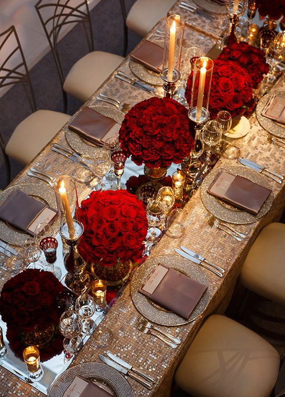 Dining table decor ideas for rakhi