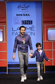 Emraan Hashmi for Diesel at LFW 2016