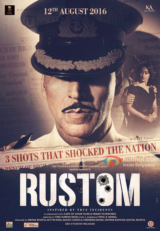 Five Reasons to watch Rustom