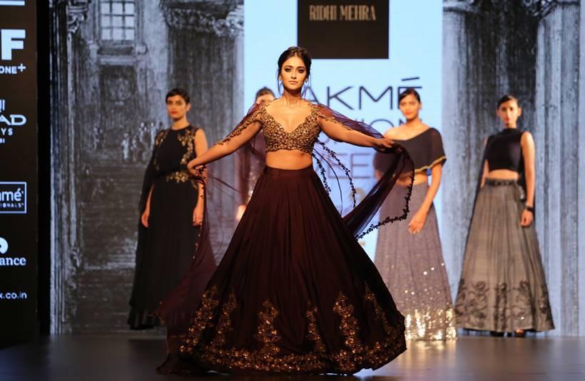 Illena D Cruz for Lakme Fashion Week 2016