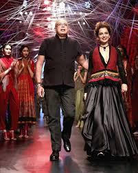 Kangana Ranaut for Tarun Tihalini Lakme Fashion Week 2016