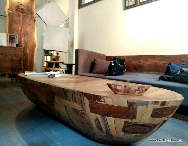 Knock On Wood Delhi - Center Table