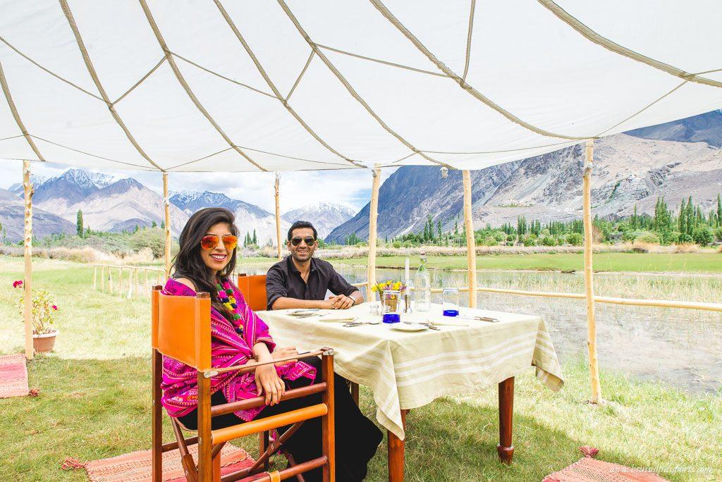 Luxury-camping-Ladakh-Chamba-Camp-Diskit-Nubra-Savi and Vid Bruised Passport