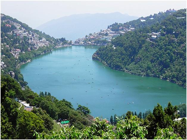Naini Lake, Nainital by Anirudh Singh