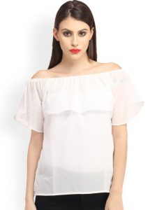 Off shoulder top under Rs.600 from Myntra