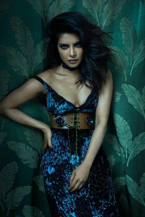 Priyanka Chopra in Choker trend