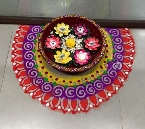 Rangoli ideas for raksha bandhan