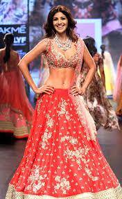 Shilpa Shetty in Lakme Fashion Week 2016