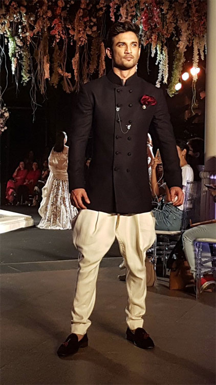 Sushant Singh Rajput for LFW 2016