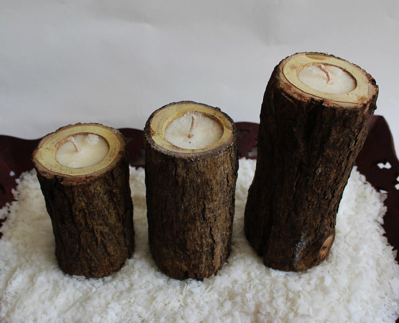 Tree bark pillarr - BHRTI HOME DÉCOR BY AKSHYA AGARWAL