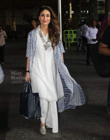 kareena-kapoor-khan-in-white-designer-kurta-and-palazzo-pant
