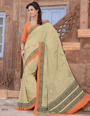 crepe-saree-for-working-women