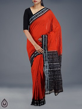 ikkat-print-saree-for-workking-women