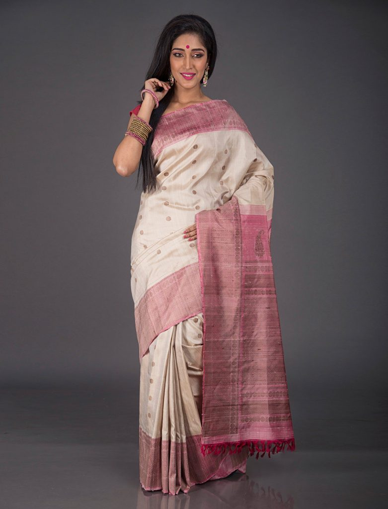 jute-silk-saree-for-working-women