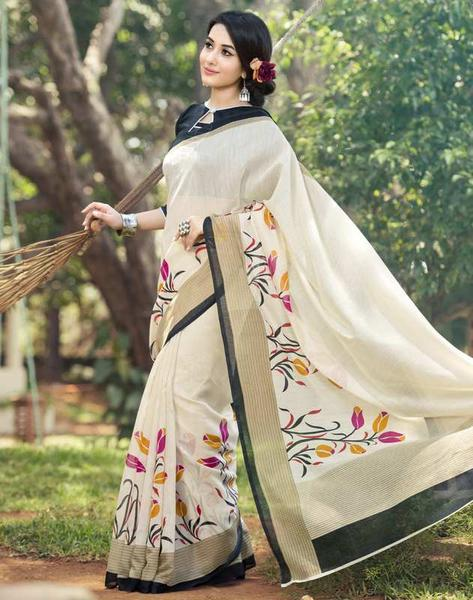 linen-saree-for-working-women