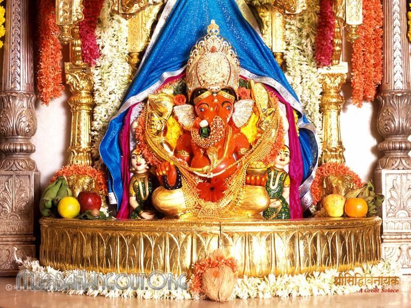 Siddhivinayak Temple Genesh Shrine