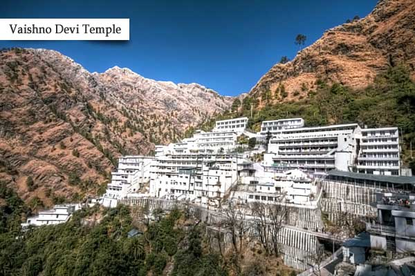Vaishno Devi Temple - Famous Temple of India