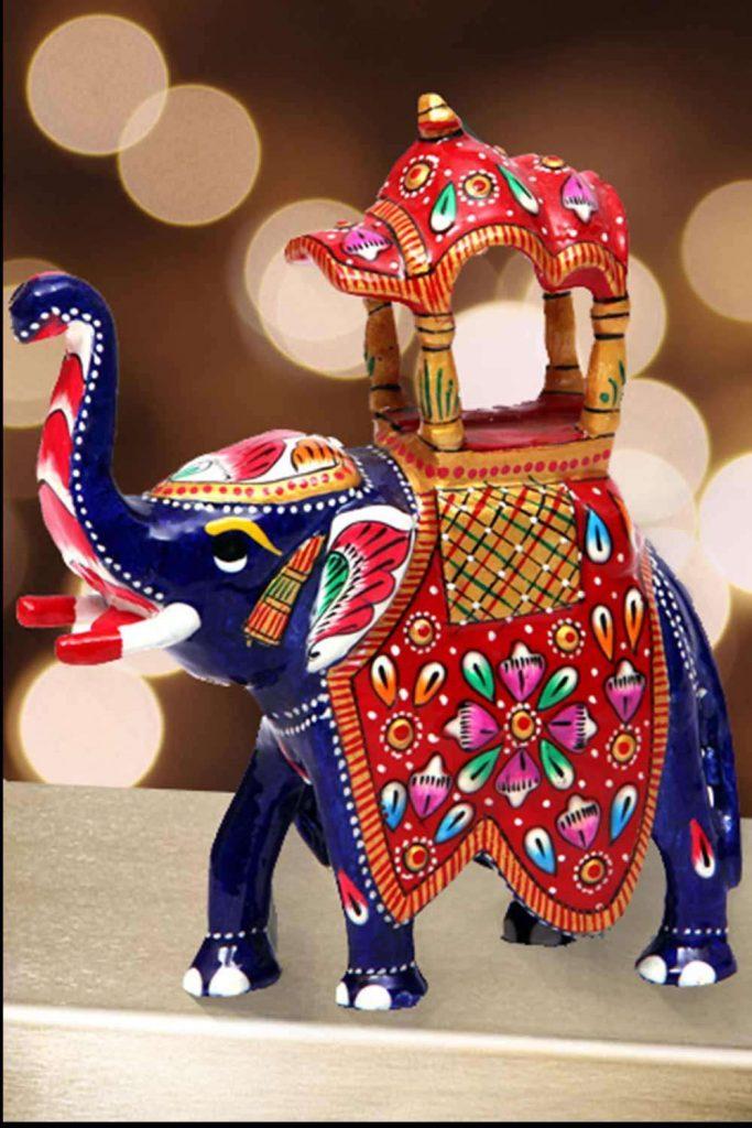handikraft-marble-elephant