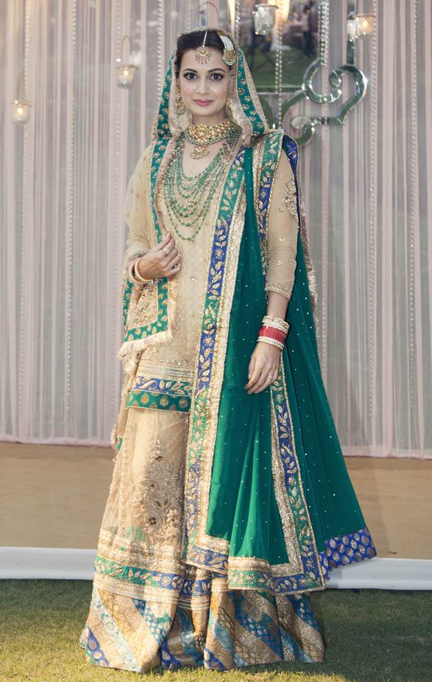 dia-mirza-on-her-wedding-day