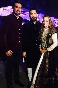 yuvraj singh and hazel keech wedding photos