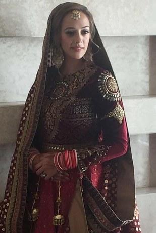 hazel keech gurudwara wedding photos
