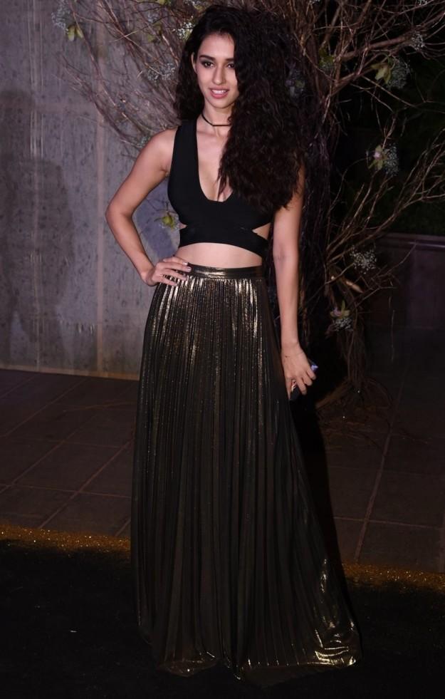 Disha Patani at at Manish Malhotra's birthday party