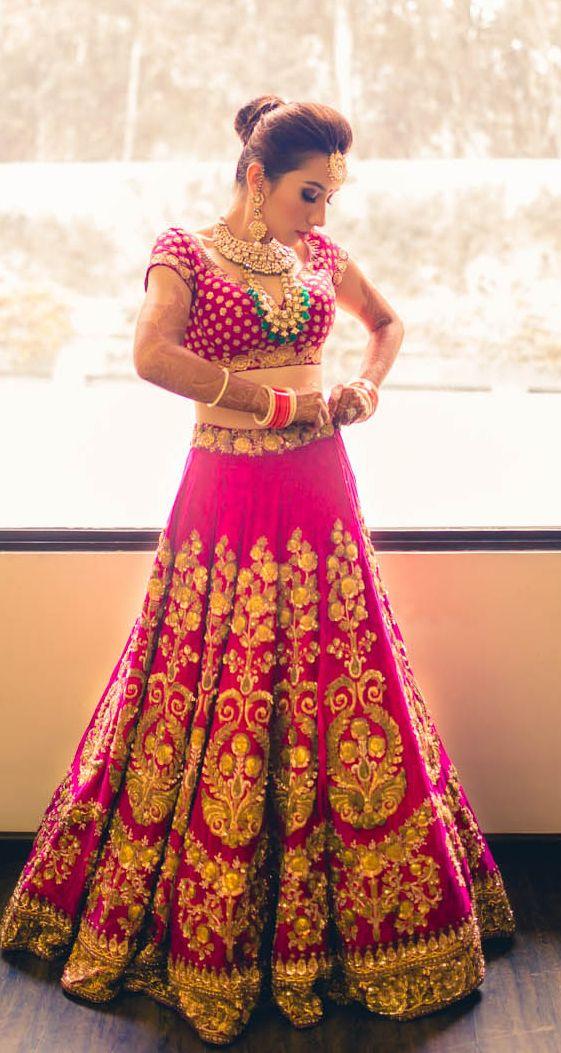 Guide to Select the Perfect Bridal Lehenga