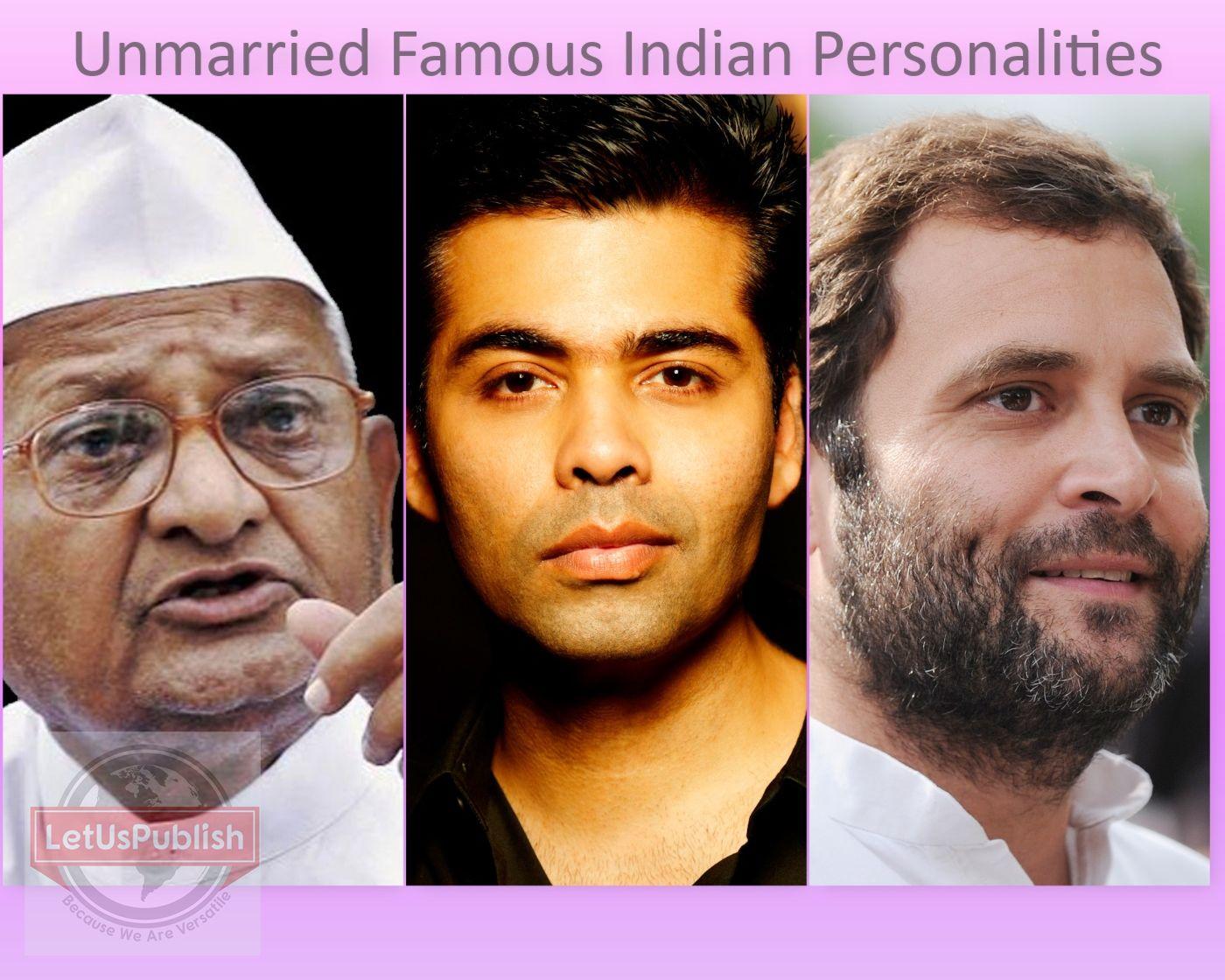 unmarried male celebrities