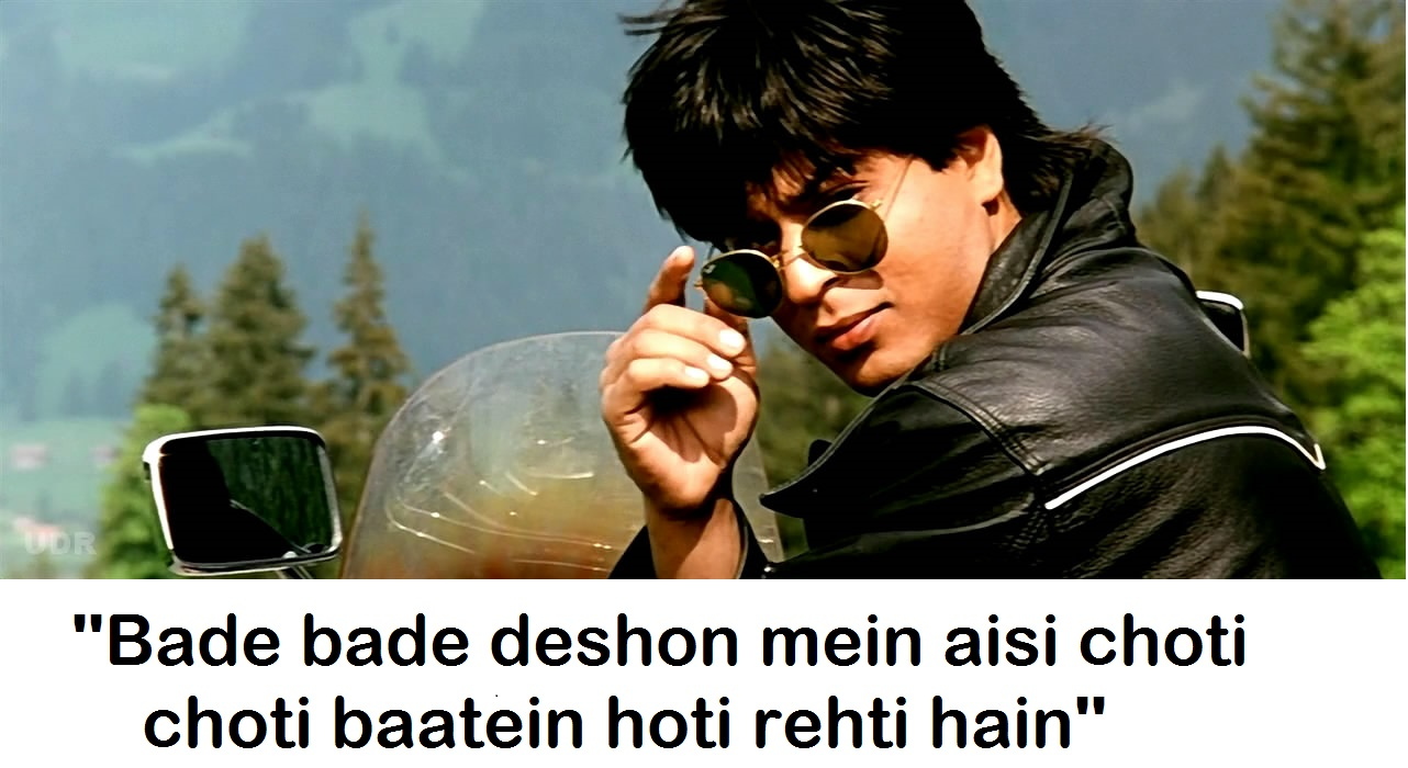 Top 20 Most Famous Shahrukh Khan Dialogues