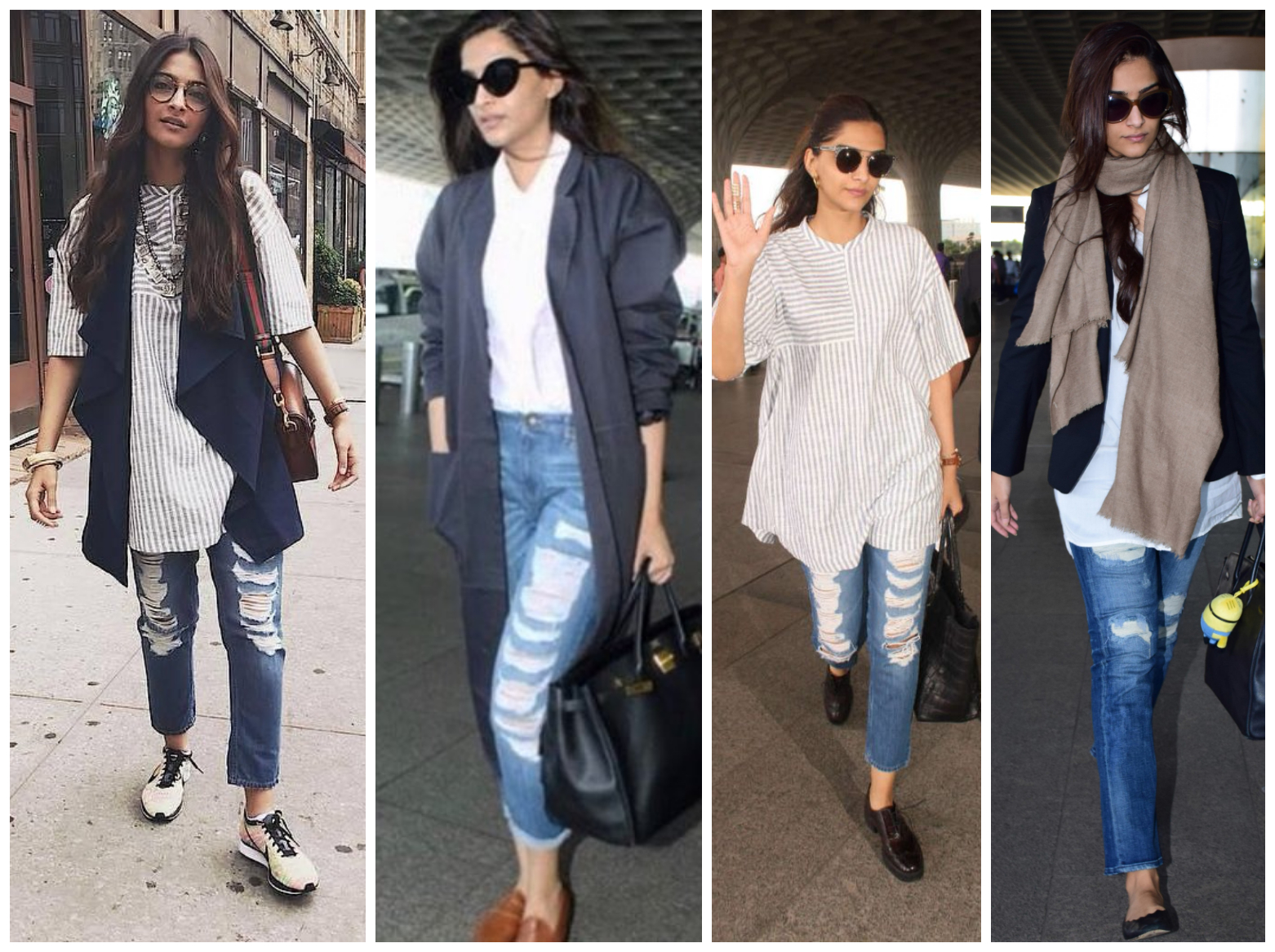 Bollywood's leading ladies who loves to endorse Ripped Jeans - Sonam Kapoor