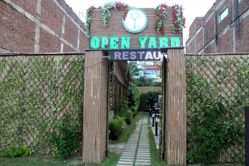 Open Yard Restaurant - First Open Ambience Restaurant