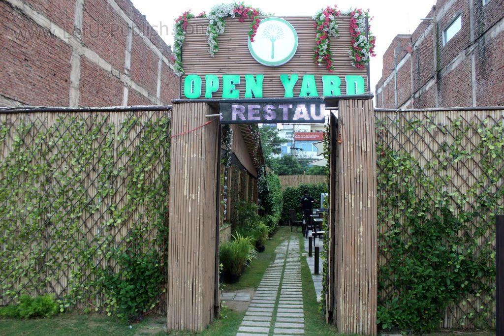 Open Yard Restaurant - First Open Ambience Restaurant