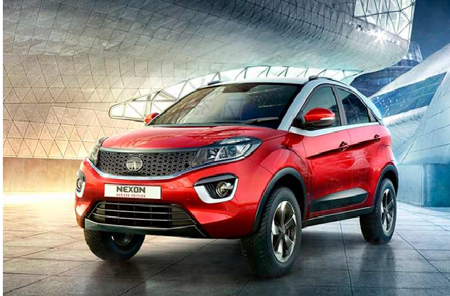 Tata Nexon – The Sporty Compact SUV