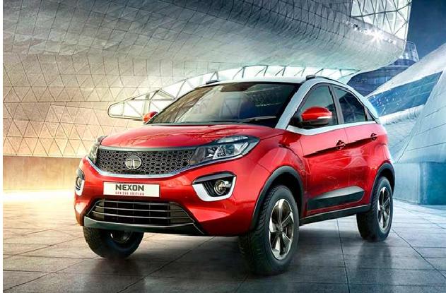 Tata Nexon – The Sporty Compact SUV