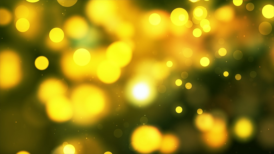 Beautiful Yellow lights wallpaper
