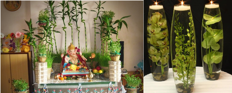 Best diy diwali decoration ideas those are eco friendly for Indoor diwali decoration