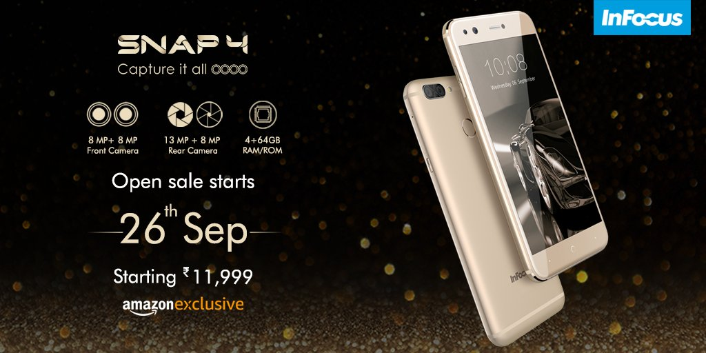 80adbed5246 These Reasons Make InFocus Snap 4 the Best Smartphone under Rs. 15000