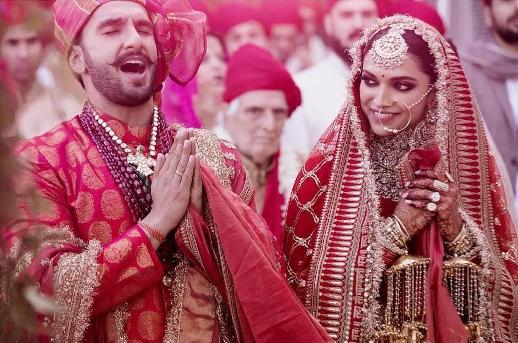Deepika Padukone and Ranveer Singh Wedding pic