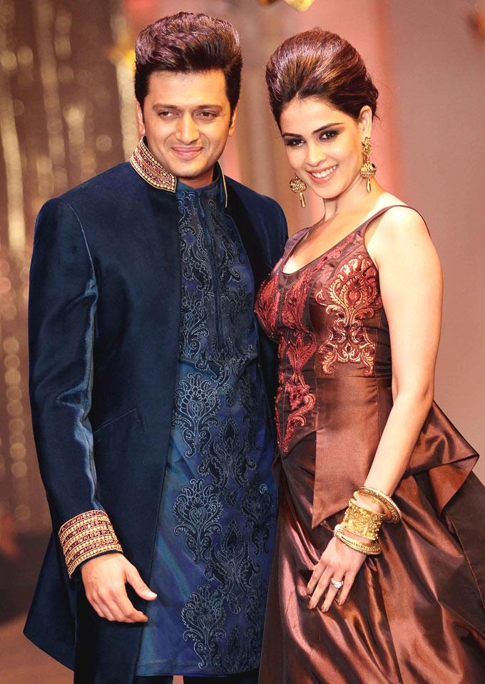 Ritesh Deshmukh & Genelia D'Souza - Most Beautiful Real Life Bollywood Couple