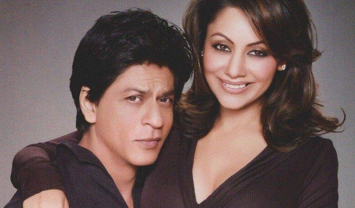 Shah Rukh& Gauri Khan