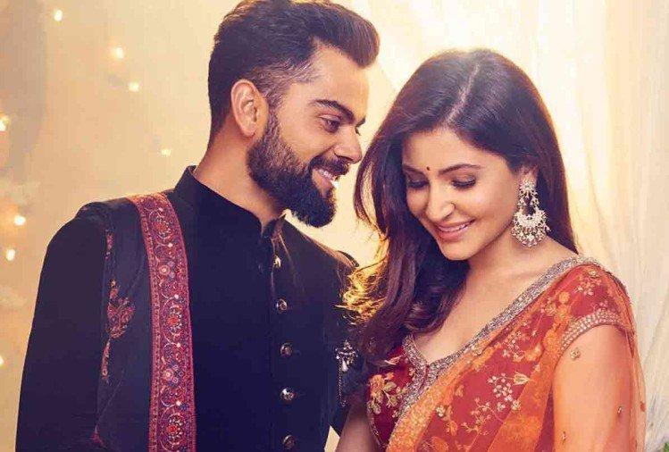 Newly weds Virat Kohli and Anushka