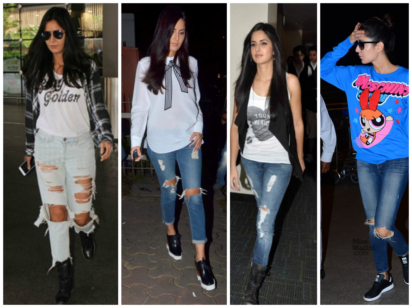Bollywood's leading ladies who loves to endorse Ripped Jeans - Katrina Kaif