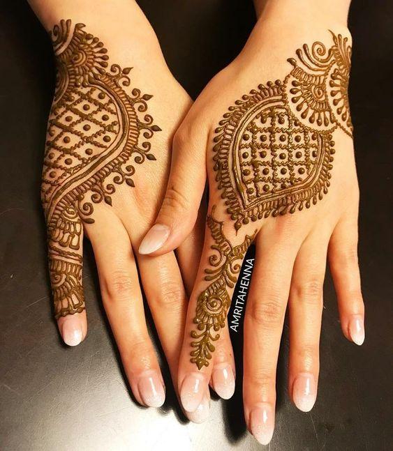 Latest Back Hand Mehndi Design Ideas Let Us Publish