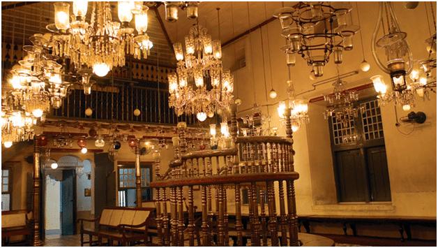 Cochin Jewish Synagogue : keralatourism.org