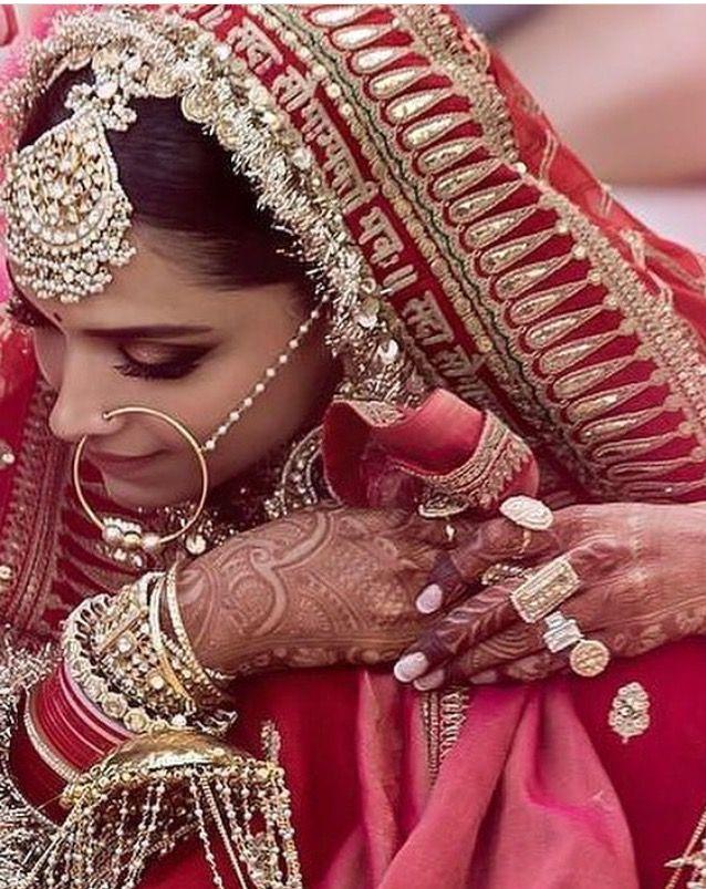 Deepika Padukone Wedding Lehenga Pics 'Sada Saubhagyavati Bhava