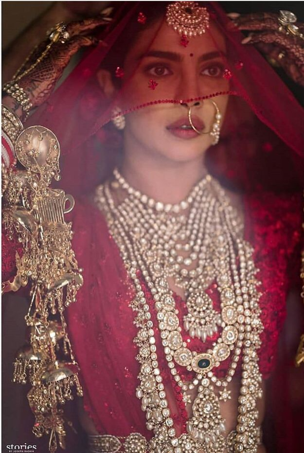 Priyanka Chopra as bride